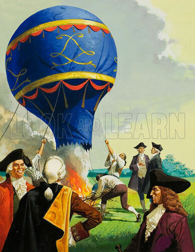 Amazoncom koslow montgolfierhot air balloons other products picture