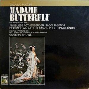 Puccini. Madame Butterfly (1971) [EMI Electrola, 1C 063-29 006 C]