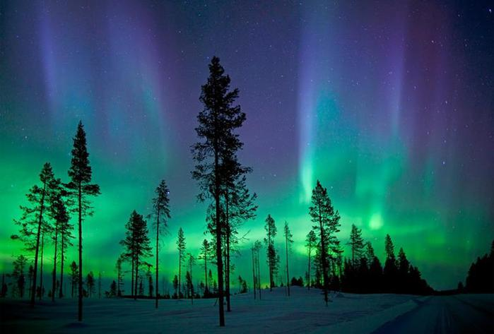 Красивые фотографии полярного сияния 0 10d632 1901ee6b orig