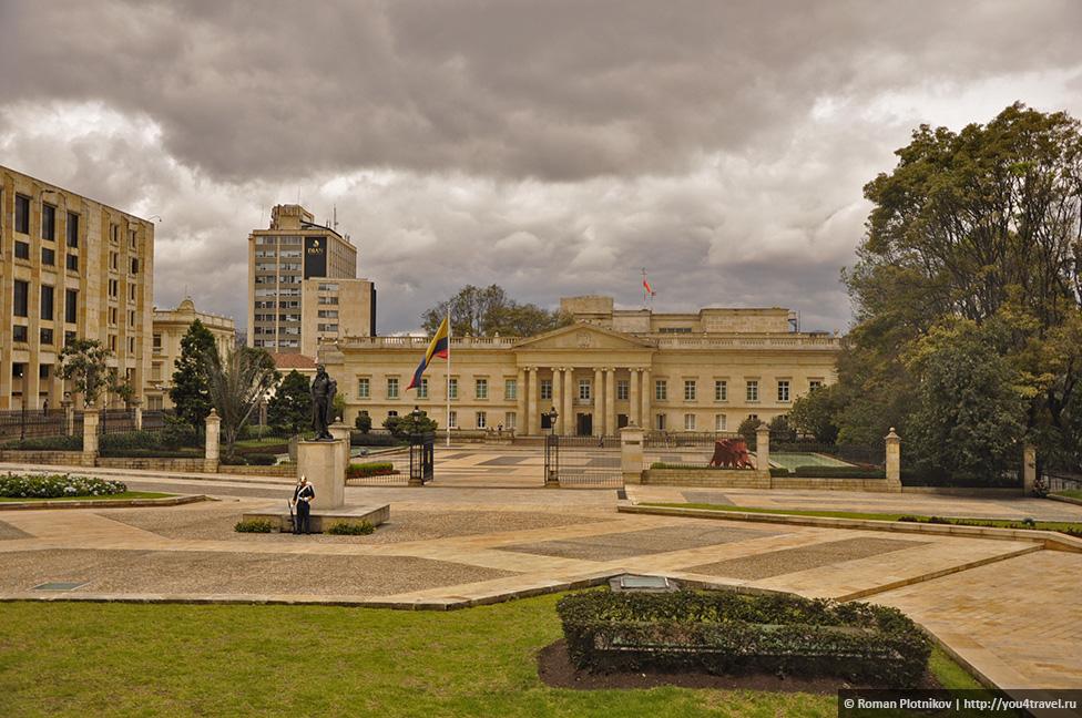 0 19199d e3c9a677 orig День 209 211. Парламент Колумбии в Боготе, Национальный музей и Президентский Дворец