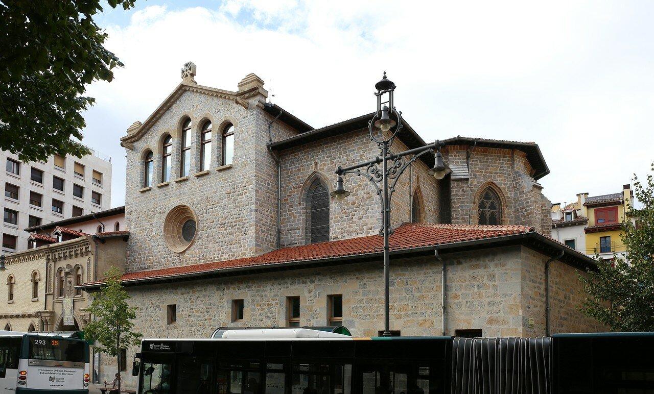 Pamplona. The Church of St. Nicholas (Iglesia de San Nicolás)