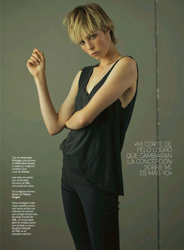 Эди Кэмпбелл (Edie Campbell) в журнале S Moda