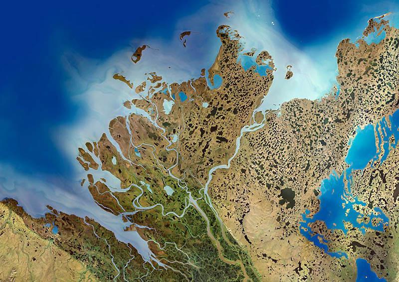 10. Изменения в дельтах рек часто происходят циклами. Причинами могут быть как природные, так и чело