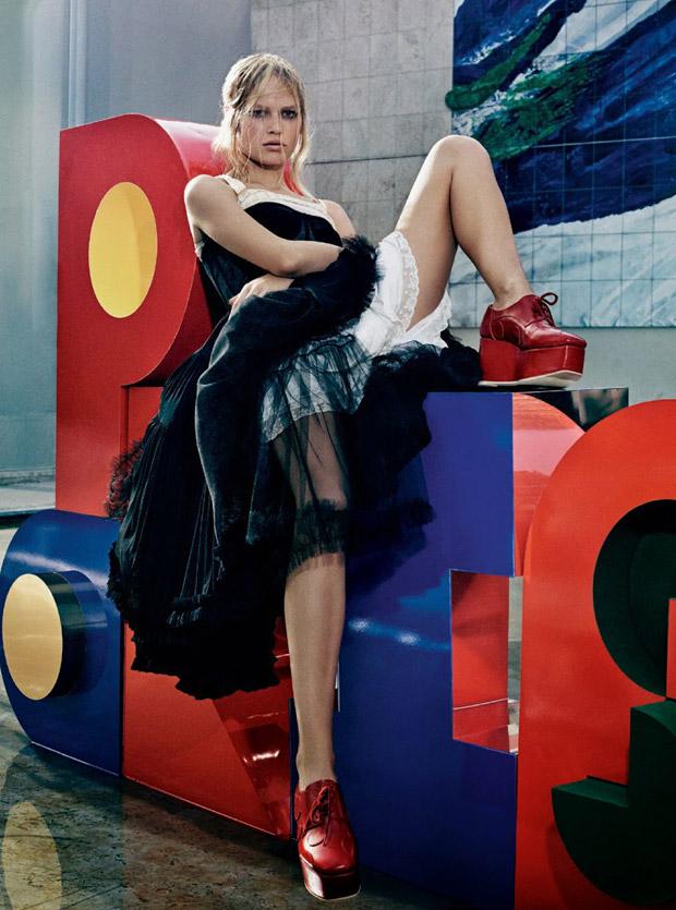 Анна Эверс (Anna Ewers) в журнале W Magazine (16 фото)