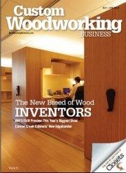 Журнал Custom Woodworking Business №6 2013