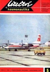 Letectvi + Kosmonautika 1972-05