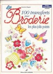 Журнал 100 TRANSFERTS pour broderie