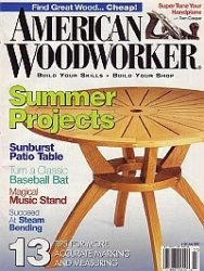 Журнал American Woodworker №129 July 2007