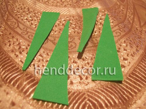 Резинка для волос из фоамирана