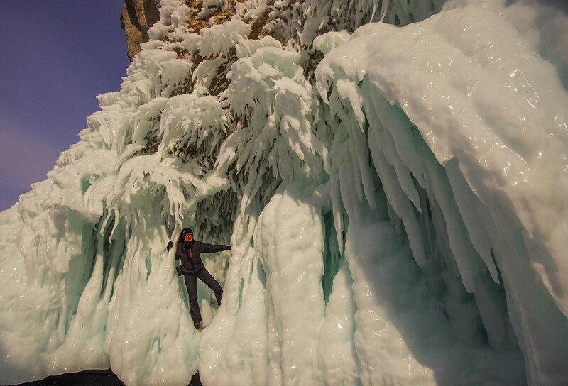 В причудливых льдах