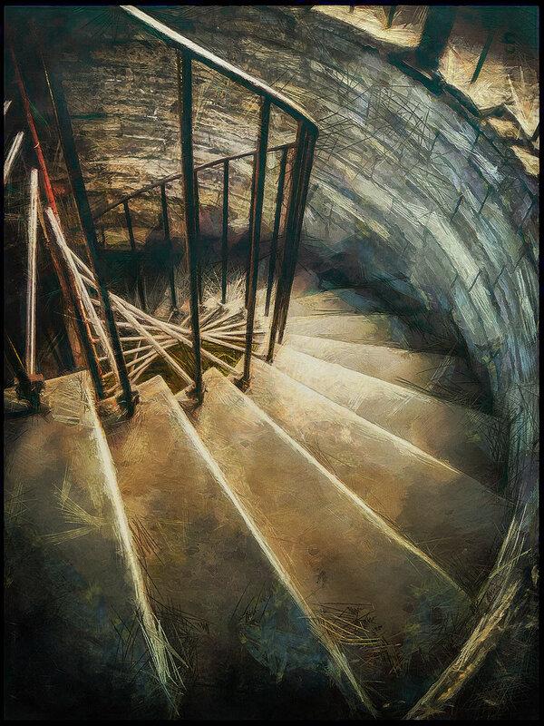 Питерские-лестницы. На колоннаду Исаакия