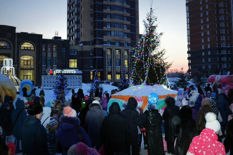 Открытие ёлки 29 декабря в Родниках