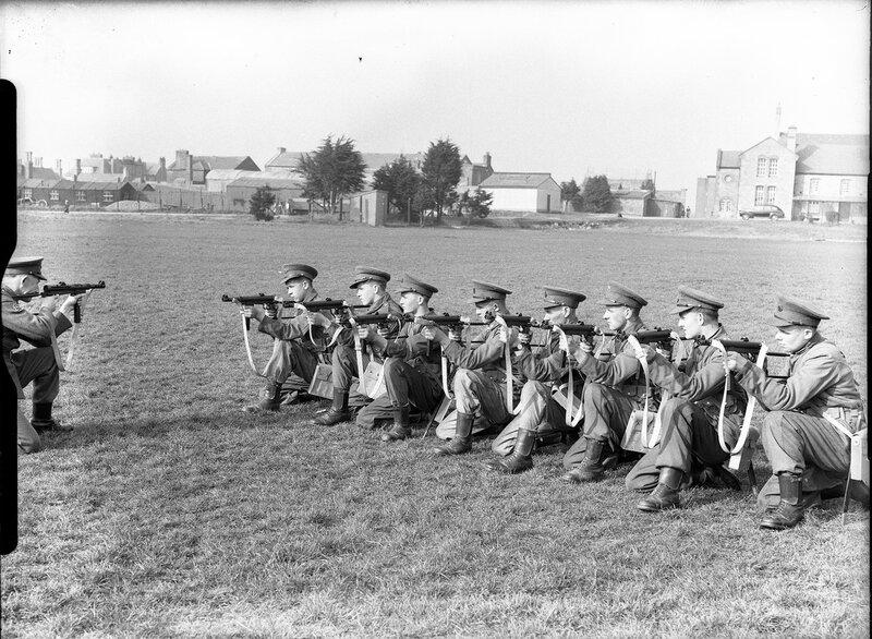 1955-й год. ФОтография из Ирландии.