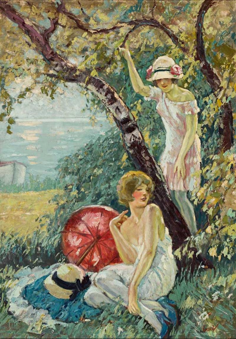 Edward Cucuel. 1875 San Francisco - 1954 Pasadena