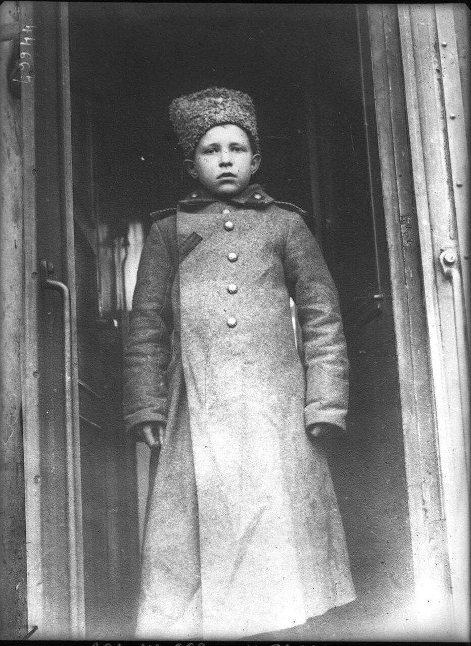 Николай Смирнов. 13 лет самый молодой солдат русской армии