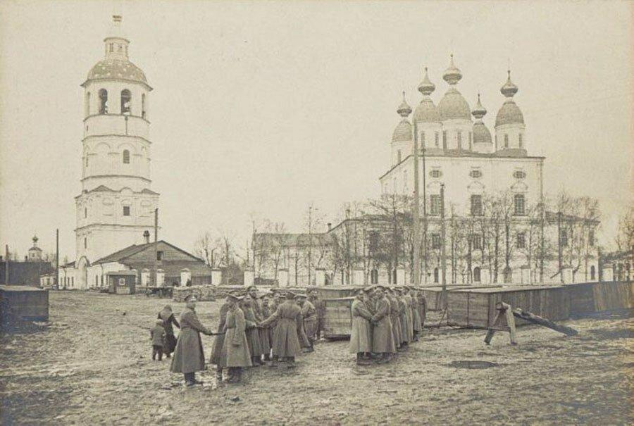 Соборная площадь 1917