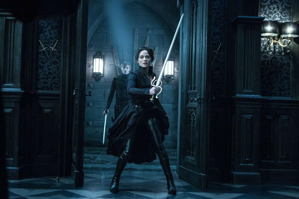 Lara Pulver and Bradley James in Screen Gems' UNDERWORLD: BLOOD WARS.