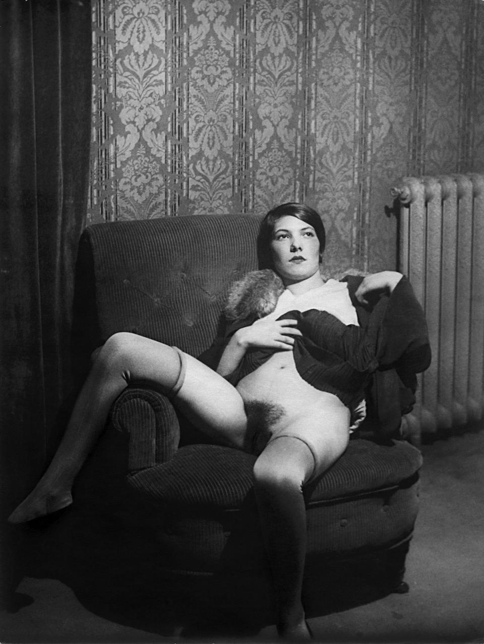 Французская эротика 30 годов прям