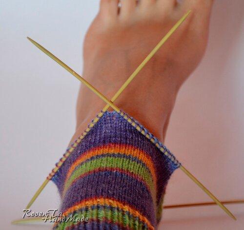 socks, knit socks, opal yarn, вязание спицами, вязаные носки, носки спицами, носочная пряжа, пряжа Опал, пряжа Opal