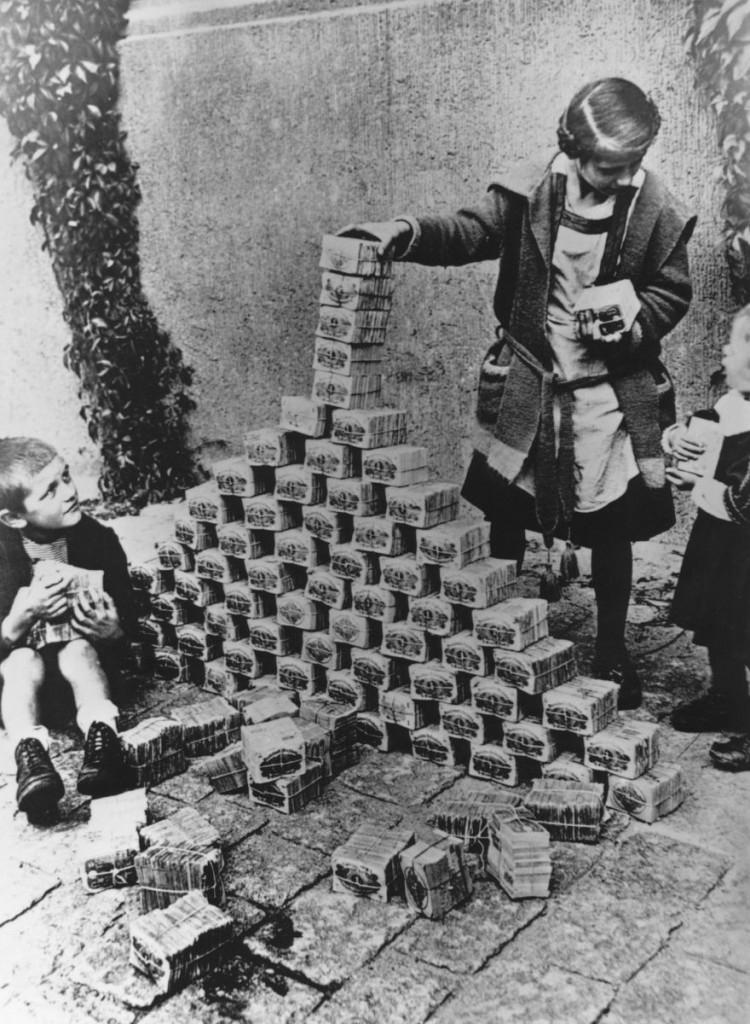 Гиперинфляция в Германии в 1923 году