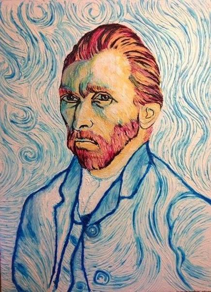 Портреты знаменитостей, написанные зубной пастой 0 12cdf1 a202739c orig