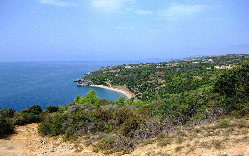 Греческие  просторы