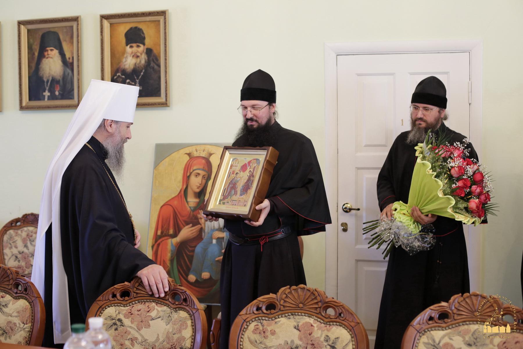 Поздравления митрополиту с возведением в сан
