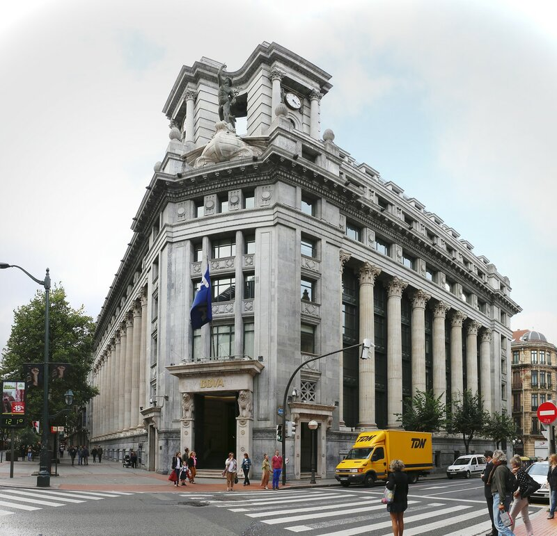 Бильбао. Банк BBVA   (Banco BBVA)