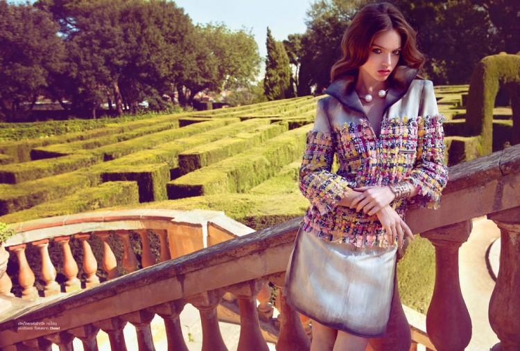 Даша Сергеева в Harper's Bazaar Thailand