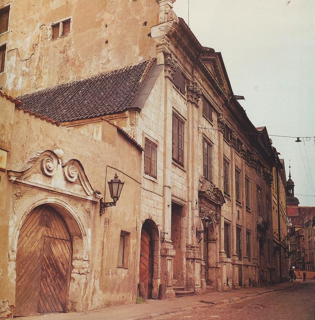 3. Улица Марсталю в Старой Риге.