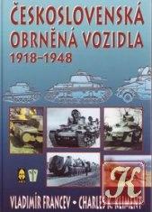 Книга Československá obrněná vozidla 1918-1948