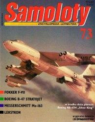 Книга Samoloty Encyklopedia Lotnictwa nr.73