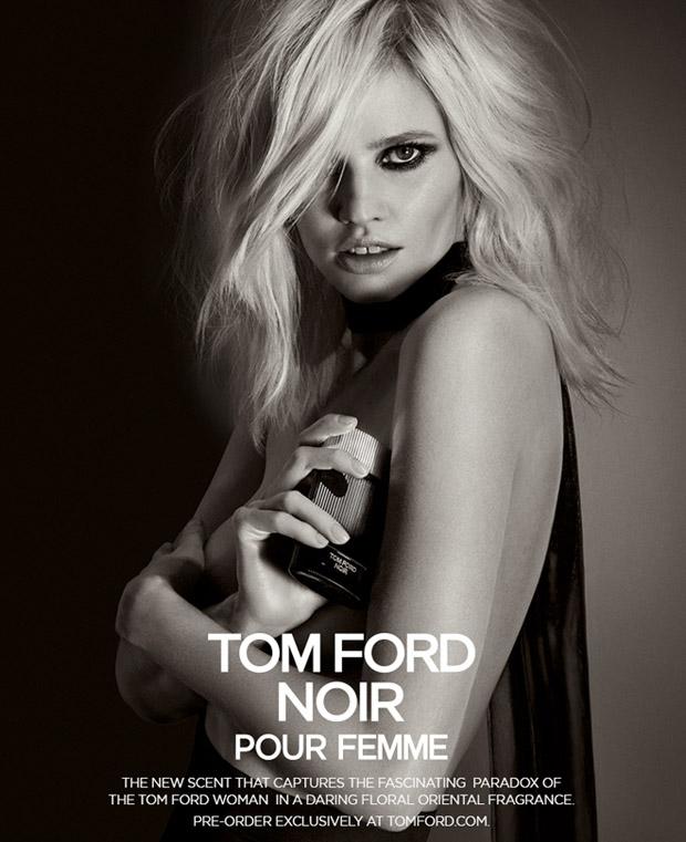 Lara Stone for Tom Ford Noir Fragrance
