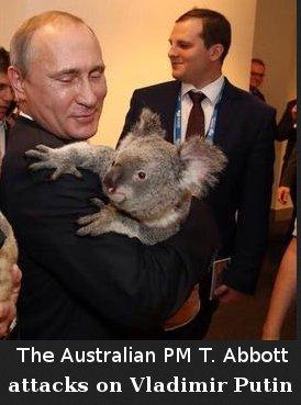 Tony Abbot vs Vladimir Putin
