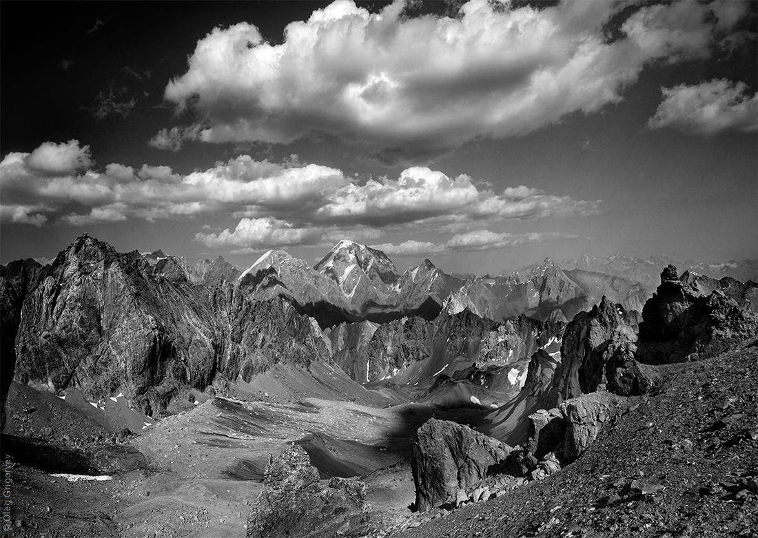 горы Таджикистана