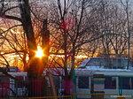 Закат в Солнцево на Авиаторов