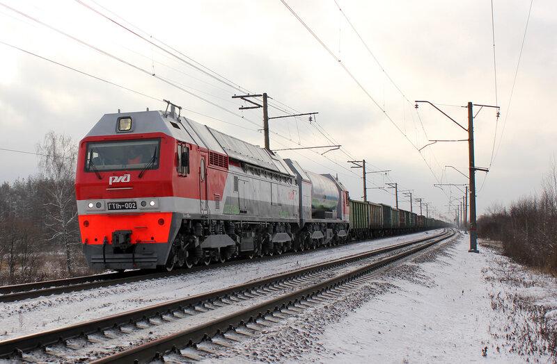 Газотурбовоз ГТ1h-002