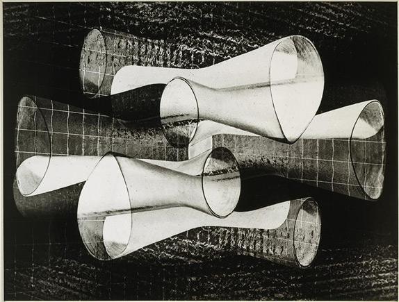 """Otto Steinert, """"Communicating Forms"""" © Otto Steinert"""