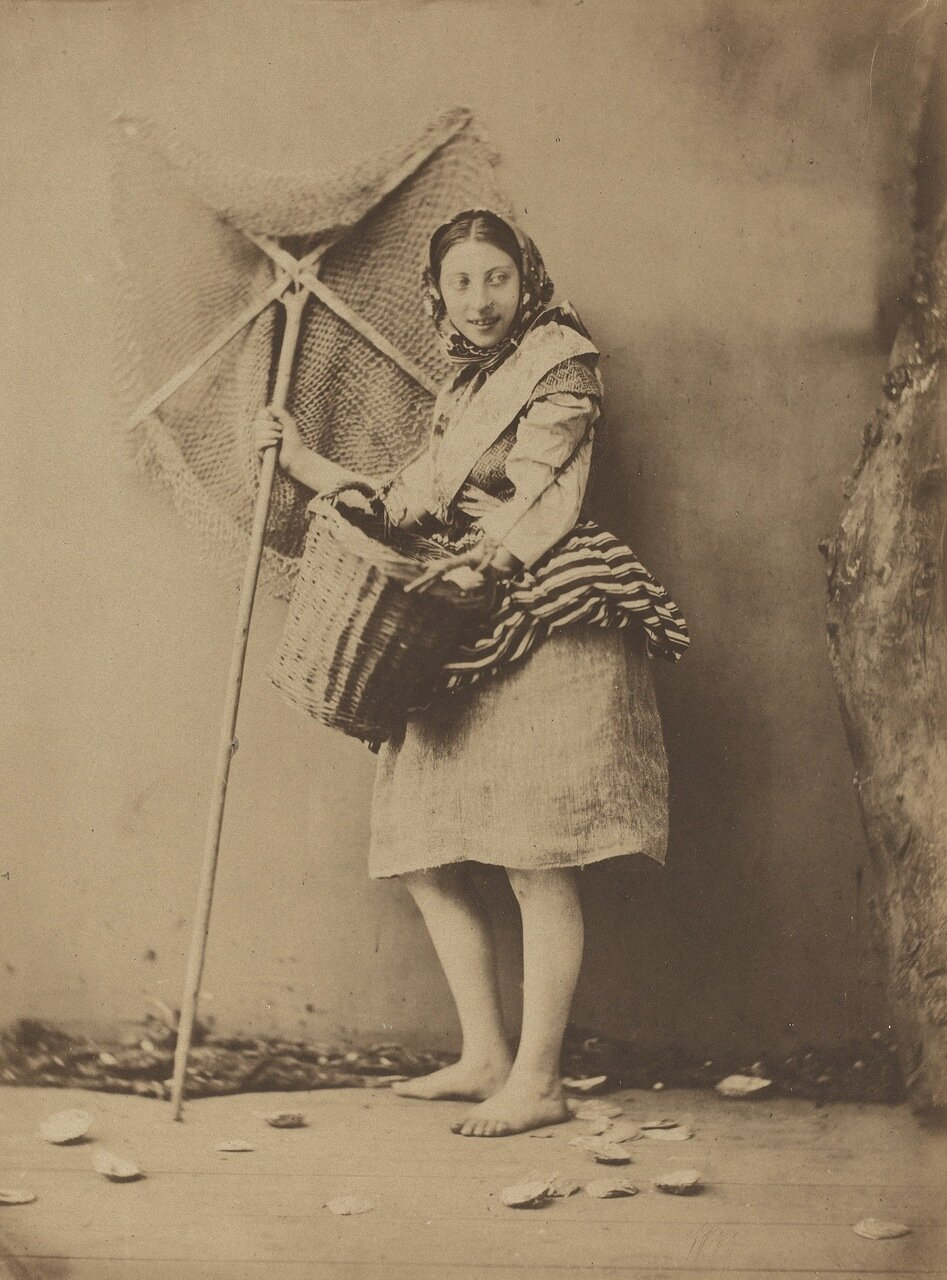 1854. Торговка свежими креветками