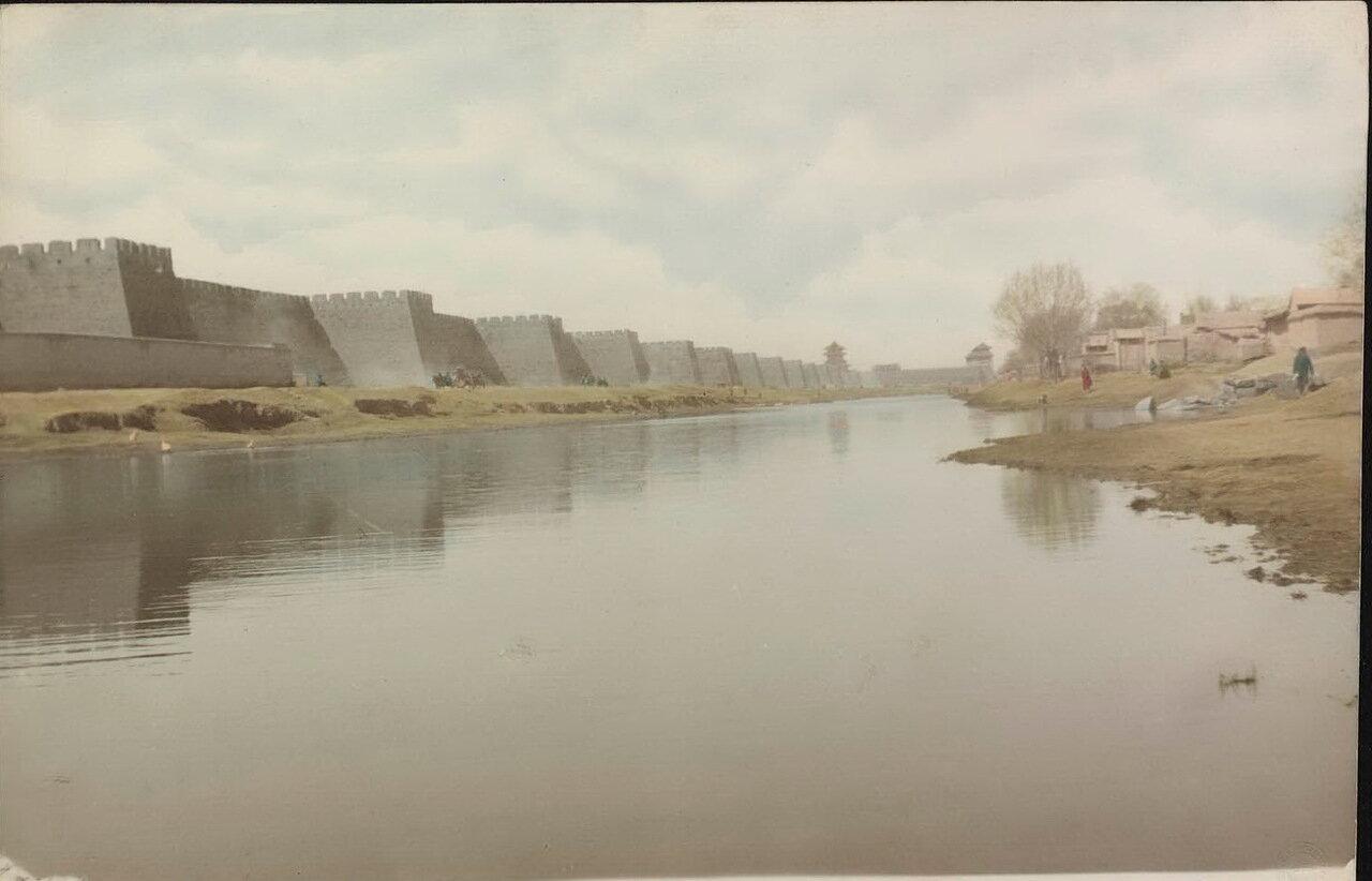 Пекин. Крепостные стены и Великий канал