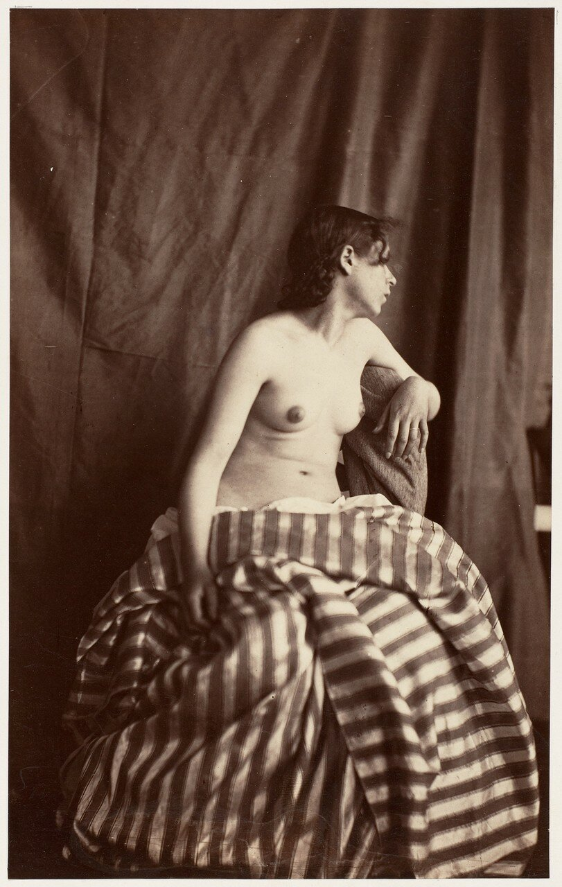 1853. Обнаженная в студии