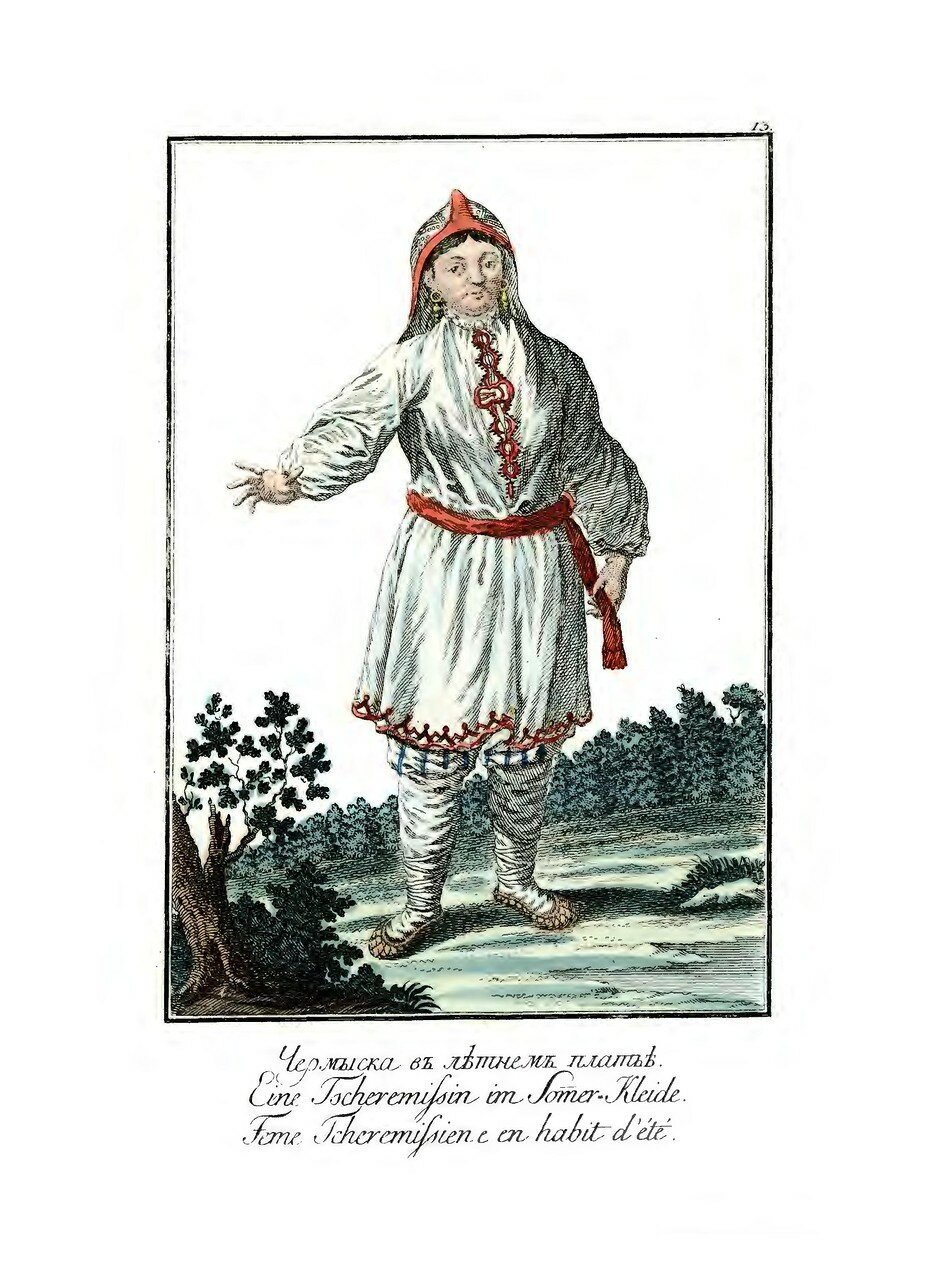 13. Черемиска в летнем платье