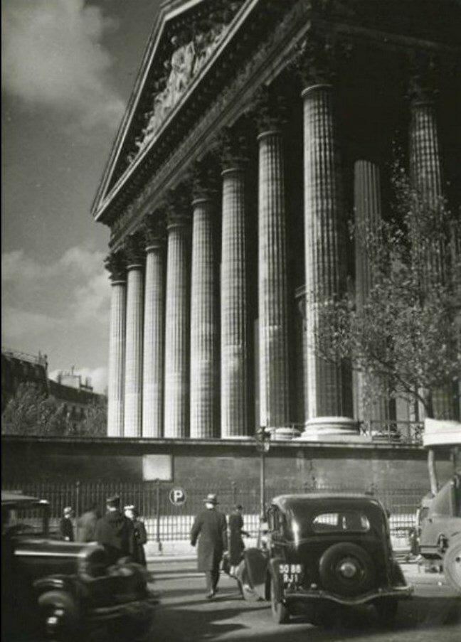 1930-е. Площадь Мадлен