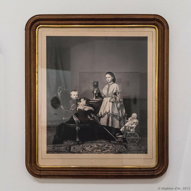 Великий князь Сергей Александрович и великая княжна Мария Александровна. Робийяр.