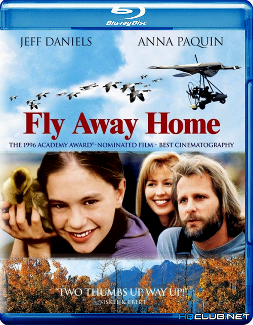 Летите домой / Fly Away Home (1996/HDRip)