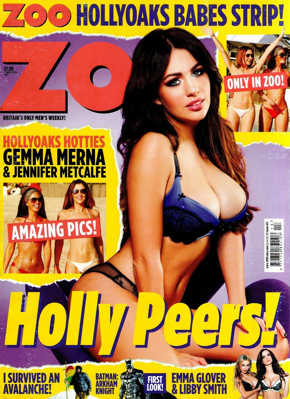 Holly Peers - ZOO Magazine | March 2015