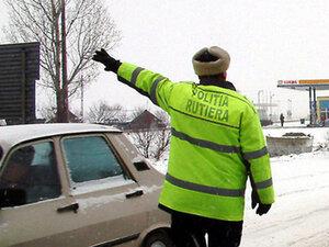 Два полицейских экипажа в Молдове подверглись угрозам