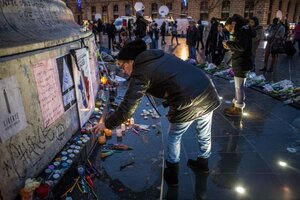 Мемориал в память о жертвах теракта в Париже осквернили