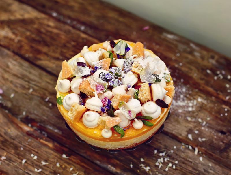 Торт Чизкейк с манго - пошаговый рецепт с фото #7.