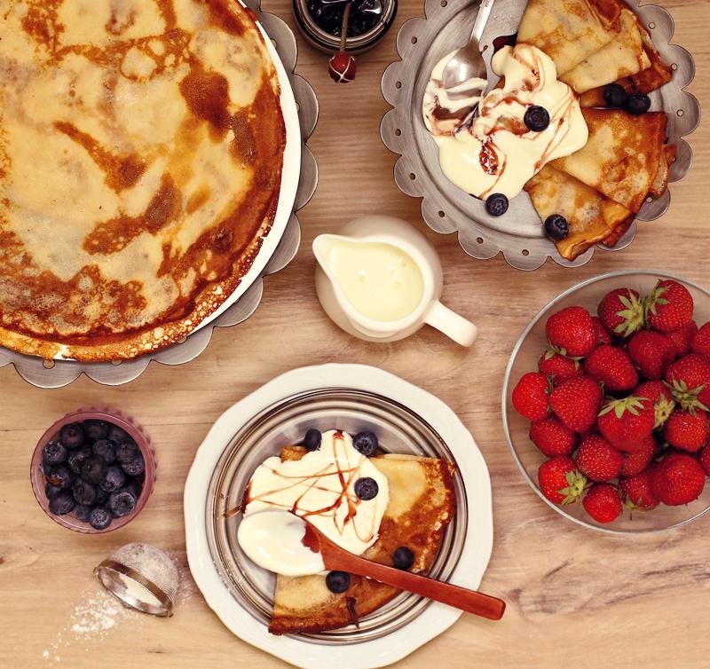 Рецепт блинов - простой пошаговый рецепт с фото #1.